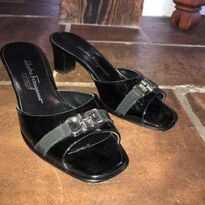 Salvatore Ferragamo Patent Leather Heel
